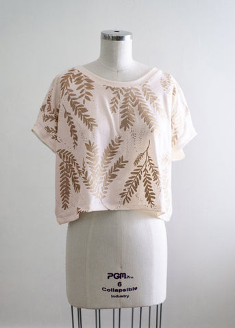 Fall Opulence Organic Top - In Birch and Heme