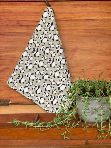 Pretty Panda Kitchen Towel