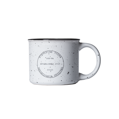 Stateside Ceramic Camp Mug - Stateside Urbancraft Vodka