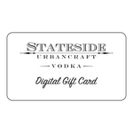 Stateside Urbancraft Vodka Gift Card - Stateside Urbancraft Vodka