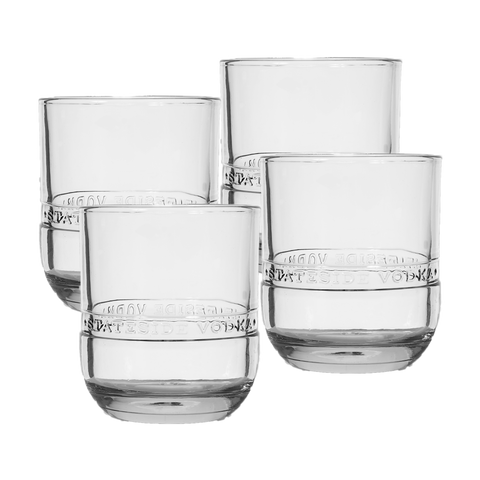 Stateside Rocks Glasses - 4 Pack - Stateside Urbancraft Vodka