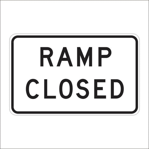 C2 (CA) ALTERNATE RAMP CLOSED SIGN