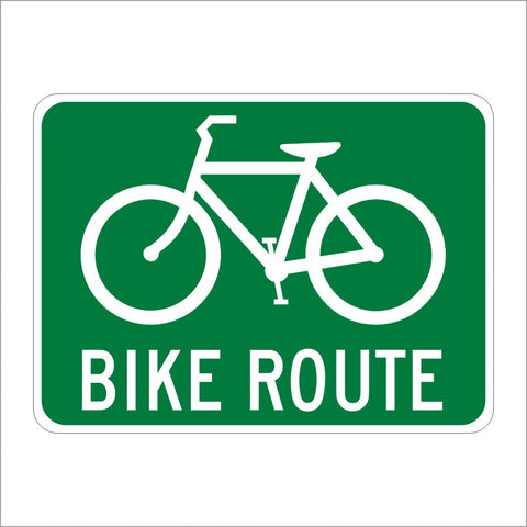 D11-1 BIKE ROUTE SIGN