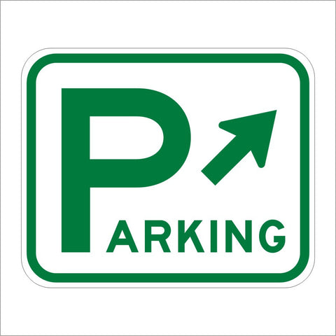D4-1 PARKING ARROW SYMBOL SIGN