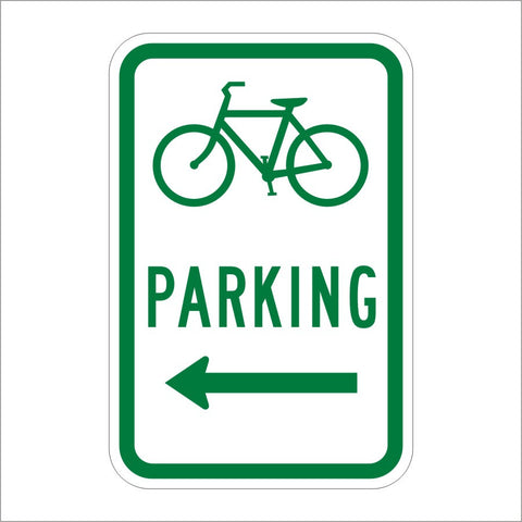 D4-3 BICYCLE PARKING ARROW SIGN