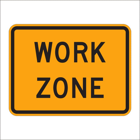 G20-5AP WORK ZONE SIGN
