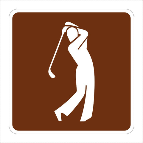 G200-80 (CA) GOLF COURSE SIGN