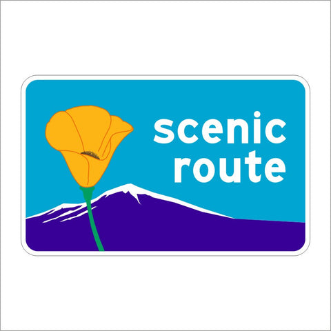 G30 (CA) SCENTIC ROUTE SIGN