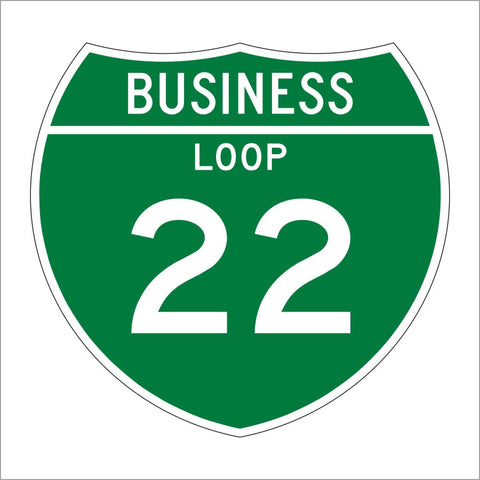 M1-2 INTERSTATE BUISNESS LOOP SIGN