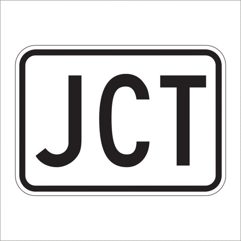 M2-1 JUNCTION AUXILIARY SIGN