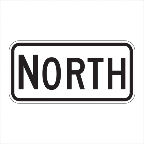 M3-1 NORTH DIRECTIONAL AUXILIARY SIGN