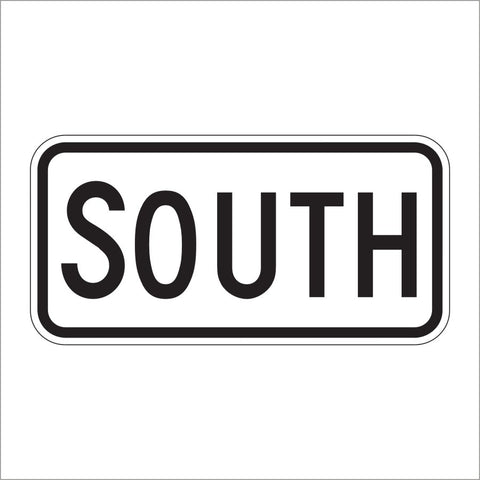 M3-3 SOUTH DIRECTIONAL AUXILIARY SIGN