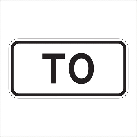 M4-5 TO AUXILIARY SIGN