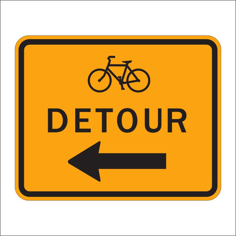 M4-9C BIKE DETOUR SIGN