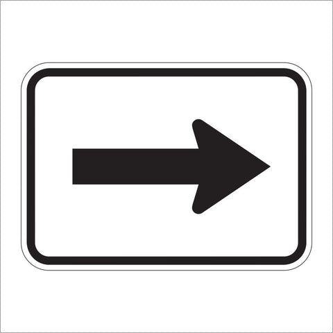 M6-1 ARROW AUXILIARY SIGN