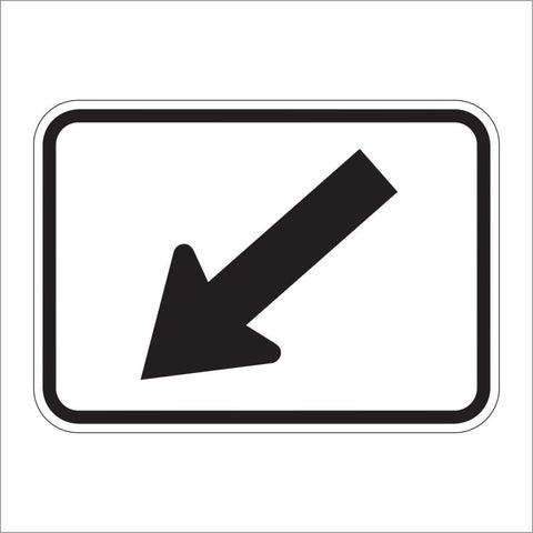 M6-2A DIRECTIONAL ARROW SIGN