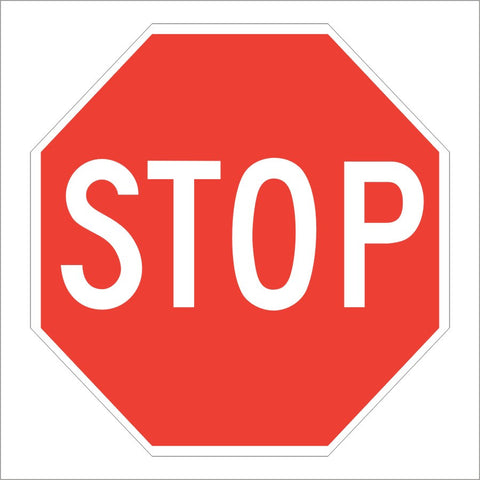 R1-1 STOP SIGN