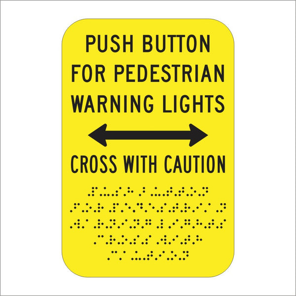 R62e Ca Push Button For Pedestrian Warning Lights Cross