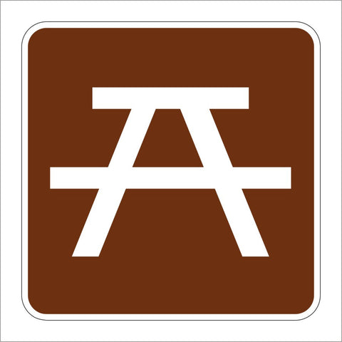 RS-044 PICNIC SITE SYMBOL SIGN