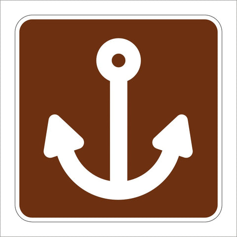 RS-053 MARINA SYMBOL SIGN