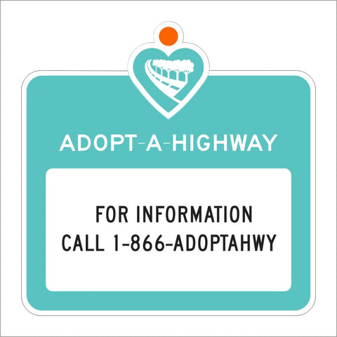 S32 (CA) ADOPT A HIGHWAY SIGN