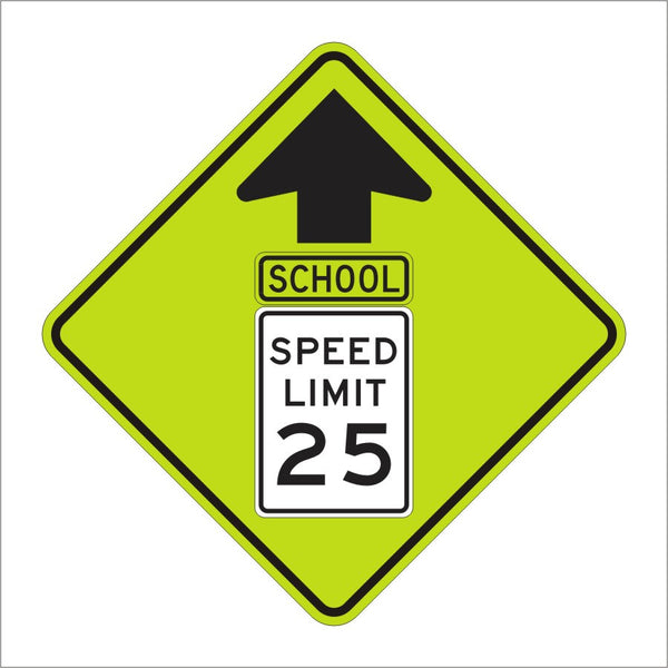 S4 5 School Speed Limit Sign Main Street Signs Athaco Inc