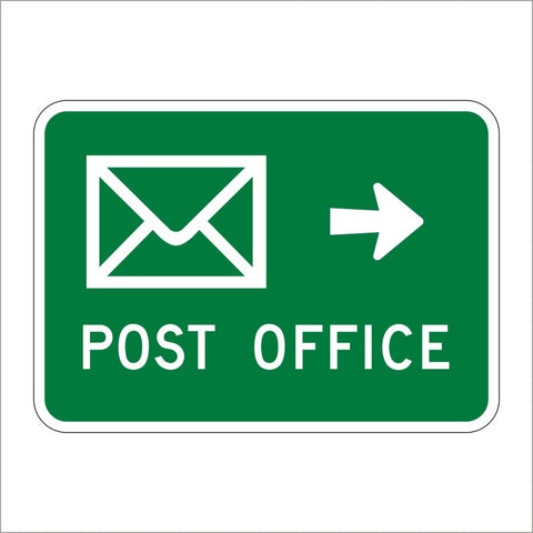 SG60 (CA) POST OFFICE (ARROW SYMBOL) SIGN