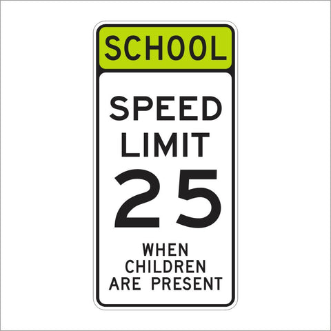 "SR4 School Sign (Assembly ""C"" Sign)"