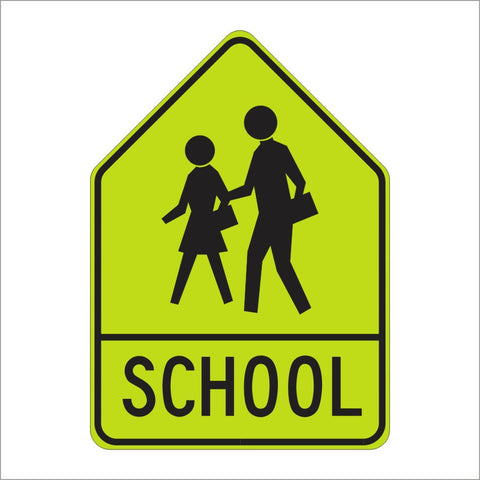 sw24 1 school sign assembly a sign main street signs athaco inc