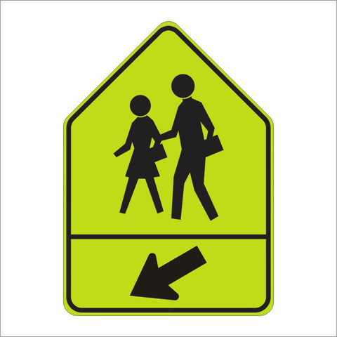 "SW24-2 School Sign (Assembly ""B"" Sign)"