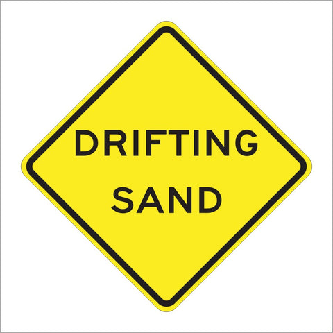 SW32(CA) DRIFTING SAND SIGN