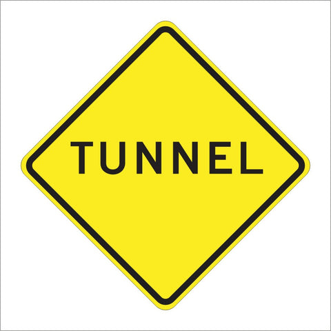SW37 (CA) TUNNEL SIGN
