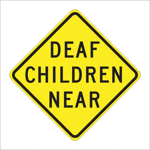 SW38 (CA) DEAF CHILDREN NEAR SIGN
