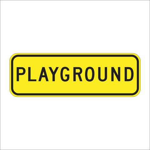SW49 (CA) PLAYGROUND SIGN