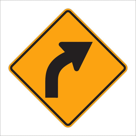 W1-2 CURVE SIGN