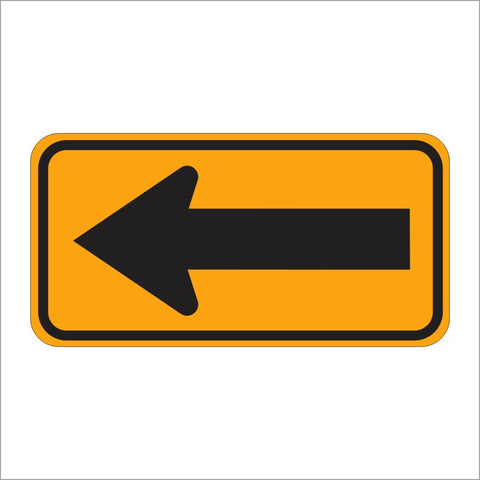 W1-6 DIRECTION LARGE ARROW SIGN