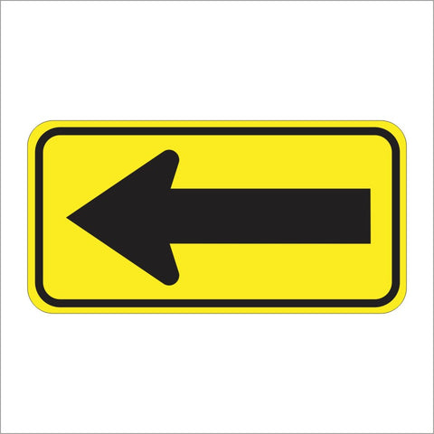 W1-6 LARGE ARROW (ONE DIRECTION) SIGN