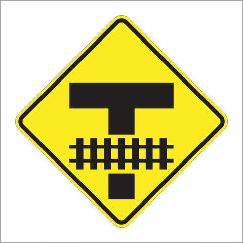W10-11 STORAGE SPACE (RAILROAD CROSSING) SIGN