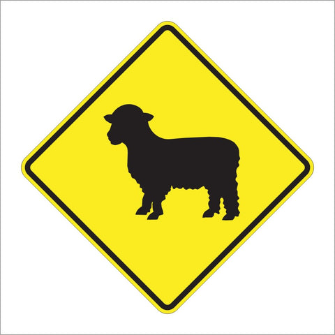 W11-17 SHEEP SIGN