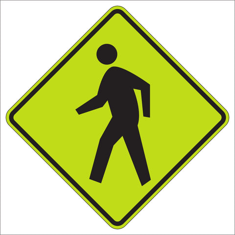 W11-2 School Pedestrian Crossing Sign