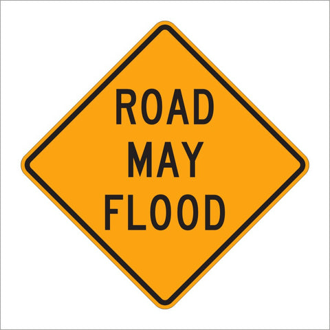W8-18 ROAD MAY FLOOD SIGN