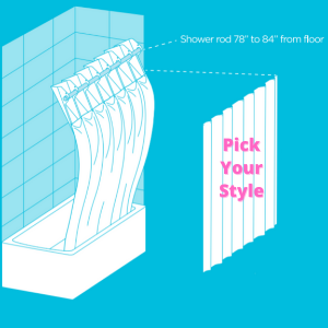 Pick Your Style of Decorative Shower Curtain