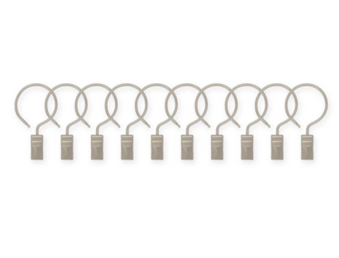 unique shower curtain designs, SPACE® Hooks
