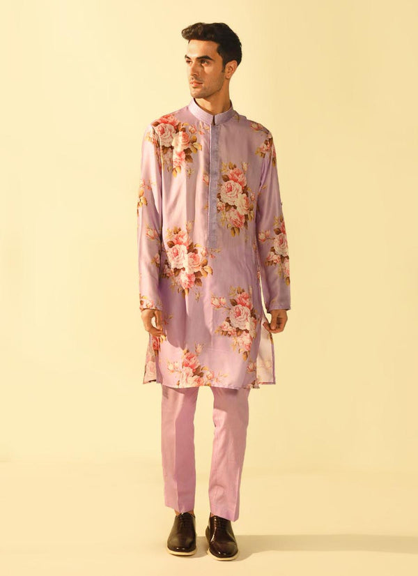 The Candy Shop- Purple Grape Kurta set