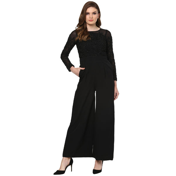 A Romantic Fable - Jessica Black embroided jumpsuit