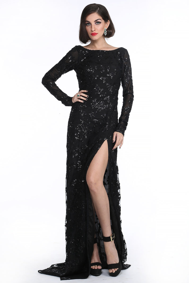 Marilyn - Embroided Evening Gown