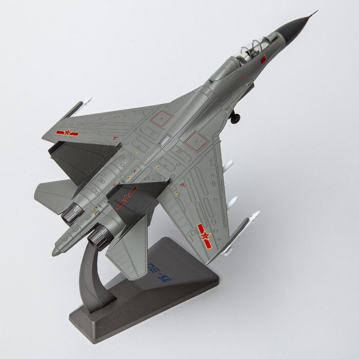 Classic Alloy Toy Model 1:72 Scale SU-30MKK Figh ter Bomber Mili tary Aircraft Diecast Model for Man Gift,Collection,Decoration