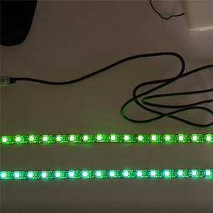 LED Strip Flashlight Bar Lamp For For Xiaomi M365 Electric Scooter Skateboard Night Safety Light