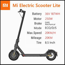 Load image into Gallery viewer, Xiaomi M365 Lite Foldable Smart E Scooter