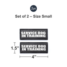 Load image into Gallery viewer, Velcro Patches for Harness - Service Dog, Emotional Support, In Training, Service Dog In Training, and Therapy Dog Patches, by Industrial Puppy